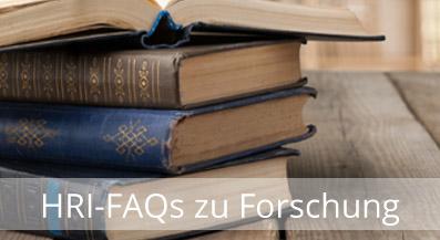 FAQs zu Forschung